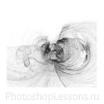 Кисти: абстрактные для Фотошопа - кисть 16