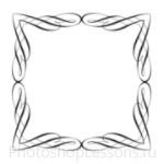 Кисти: декоративные рамки для Фотошопа - кисть 14