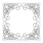 Кисти: декоративные рамки для Фотошопа - кисть 16