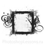Кисти: декоративные рамки для Фотошопа - кисть 21