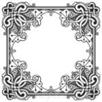 Кисти: декоративные рамки для Фотошопа - кисть 49