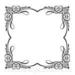Кисти: декоративные рамки для Фотошопа - кисть 5
