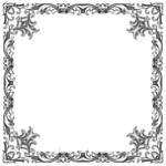 Кисти: декоративные рамки для Фотошопа - кисть 50