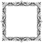 Кисти: декоративные рамки для Фотошопа - кисть 52
