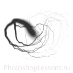 Кисти: молнии для Фотошопа - кисть 9