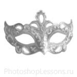 Кисти: маски для Фотошопа - кисть 10