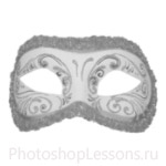 Кисти: маски для Фотошопа - кисть 17