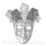 Кисти: маски для Фотошопа - кисть 18
