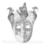Кисти: маски для Фотошопа - кисть 19