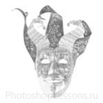 Кисти: маски для Фотошопа - кисть 20