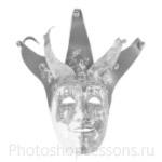Кисти: маски для Фотошопа - кисть 22