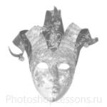 Кисти: маски для Фотошопа - кисть 23