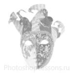 Кисти: маски для Фотошопа - кисть 25