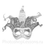 Кисти: маски для Фотошопа - кисть 26