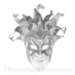 Кисти: маски для Фотошопа - кисть 32
