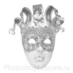 Кисти: маски для Фотошопа - кисть 33