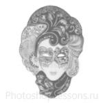Кисти: маски для Фотошопа - кисть 35