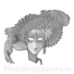 Кисти: маски для Фотошопа - кисть 36