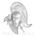Кисти: маски для Фотошопа - кисть 37