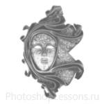 Кисти: маски для Фотошопа - кисть 40