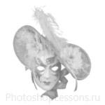 Кисти: маски для Фотошопа - кисть 42