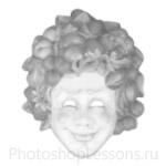Кисти: маски для Фотошопа - кисть 48