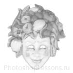 Кисти: маски для Фотошопа - кисть 49