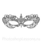 Кисти: маски для Фотошопа - кисть 5