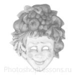 Кисти: маски для Фотошопа - кисть 50