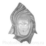Кисти: маски для Фотошопа - кисть 56